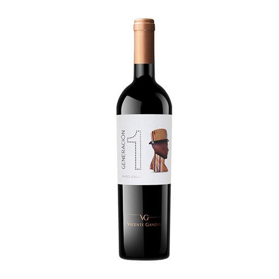 Botella de vino blanco Generación 1