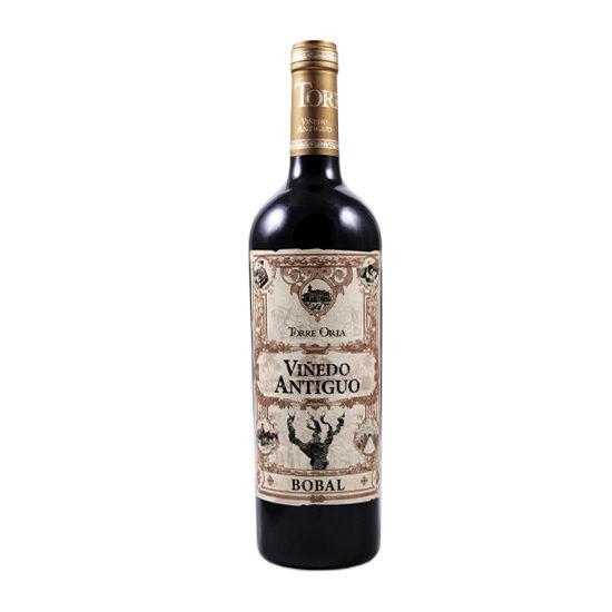 Botella de vino blanco Viñedo Antiguo