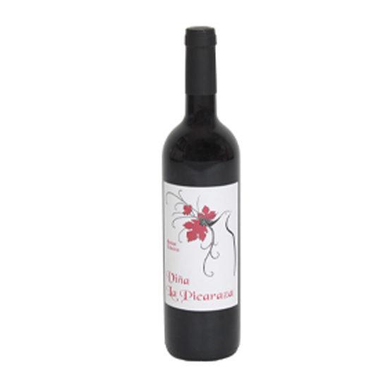 Botella de vino blanco Viña La Picaraza