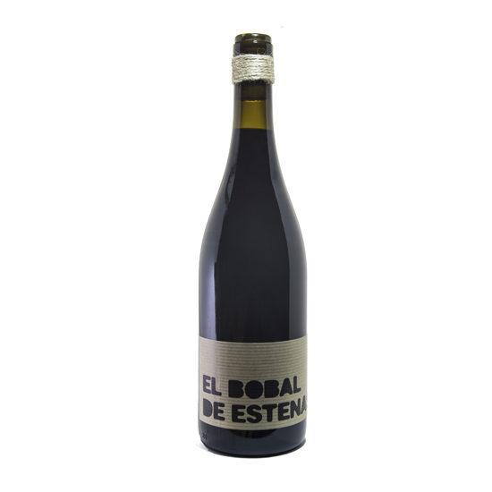 Botella de vino blanco EL Bobal de Estenas