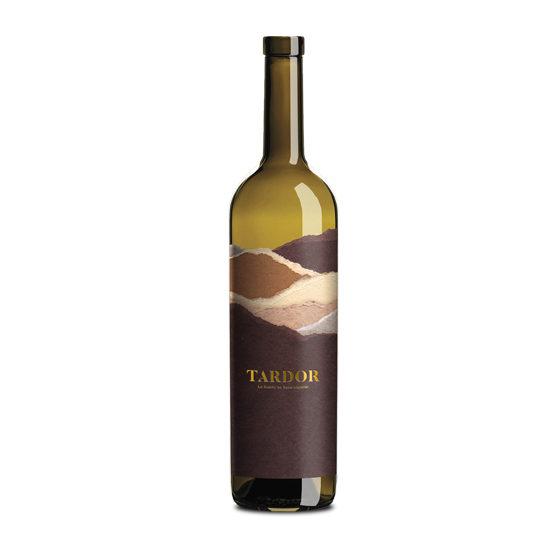 Botella de vino blanco Terra de Tardor