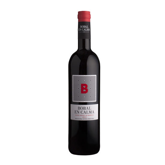 Botella de vino blanco Bobal en Calma