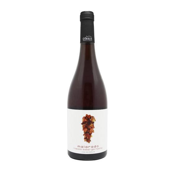 Botella de vino blanco Malarado