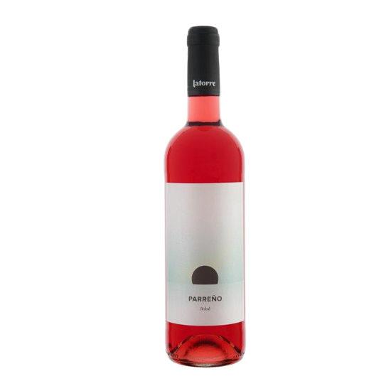 Botella de vino blanco Parreño