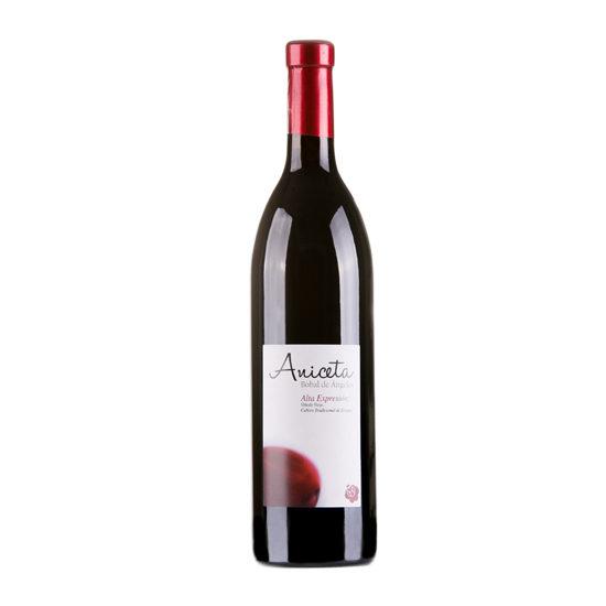 Botella de vino blanco Aniceta
