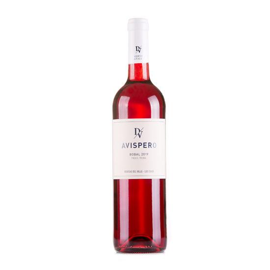 Botella de vino blanco Avispero