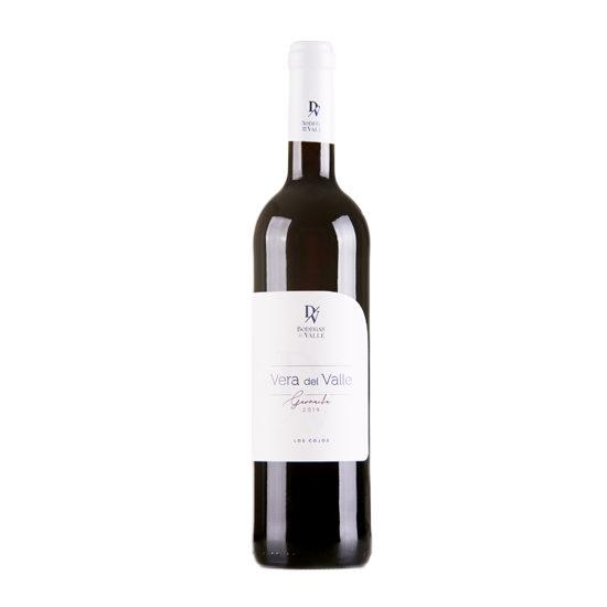 Botella de vino blanco Vera del Valle Garnacha