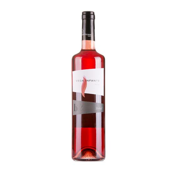 Botella de vino blanco Vega Infante Rosado
