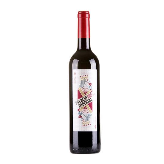 Botella de vino blanco Palacio Imperial