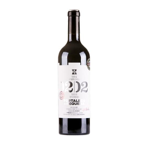 Botella de vino blanco Fortaleza de Requena
