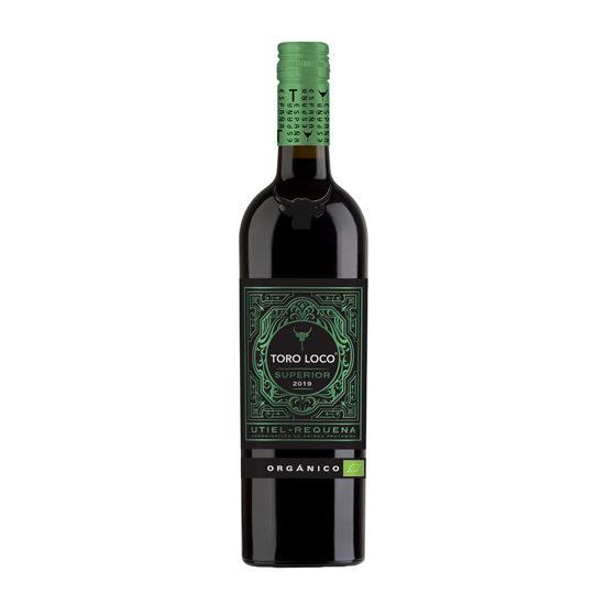 Botella de vino blanco Toro Loco orgánico