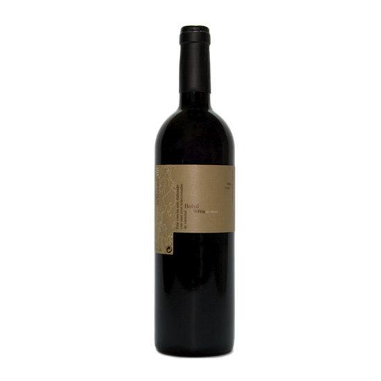 Botella de vino blanco Arcaz tinto selección