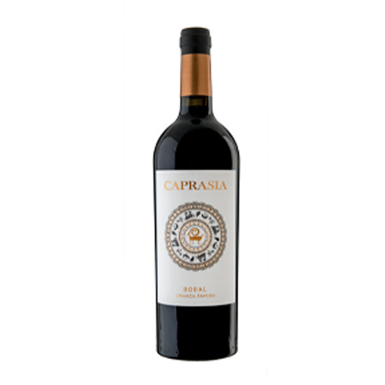 Botella de vino blanco Caprasia Crianza Ánfora