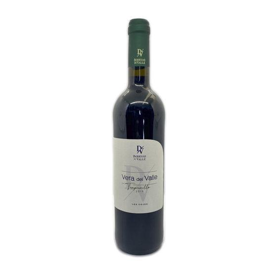 Botella de vino blanco Vera del Valle Tempranillo