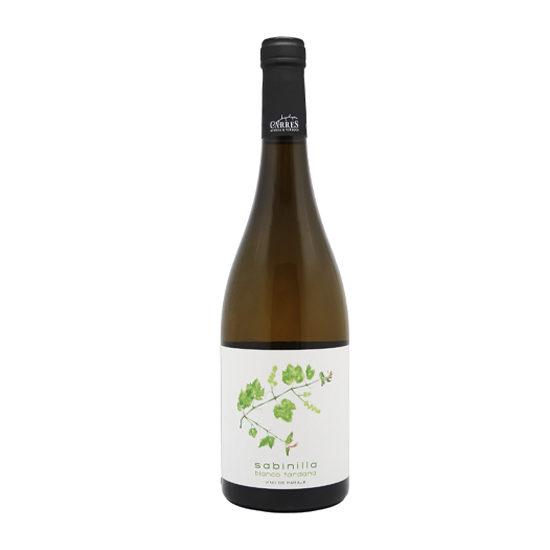 Botella de vino blanco Sabinilla