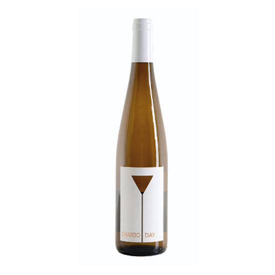 Botella de vino blanco Chardoday