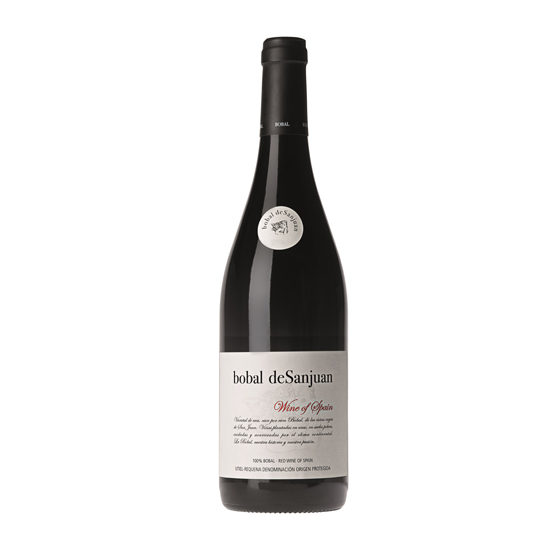 Botella de vino blanco Bobal deSanJuan Tinto