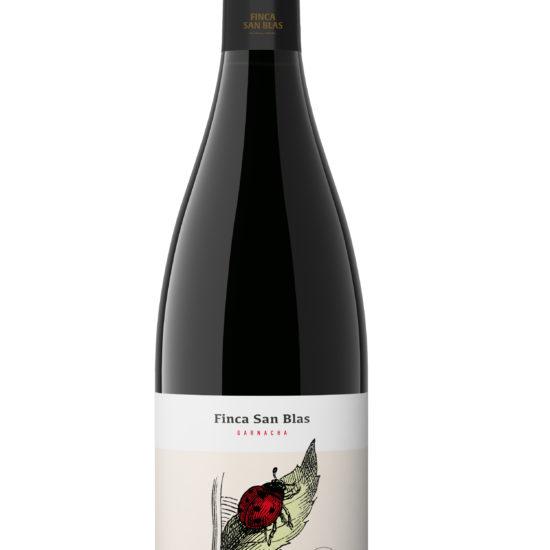 Botella de vino blanco Finca San Blas Garnacha