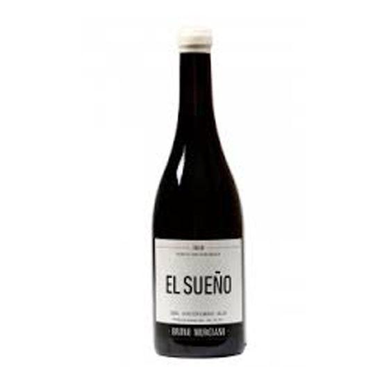 Botella de vino blanco El sueño