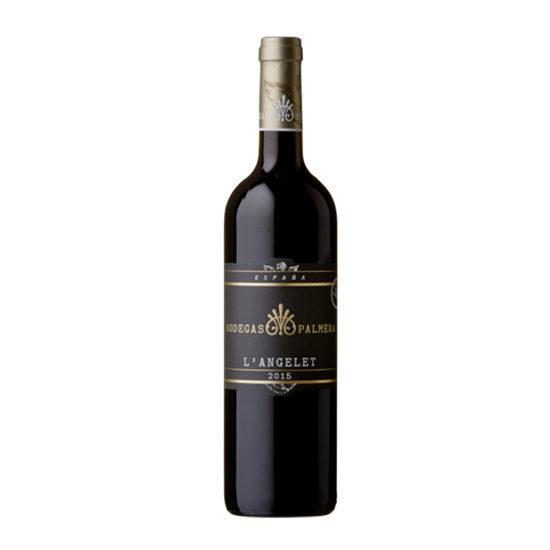Botella de vino blanco L'Angelet