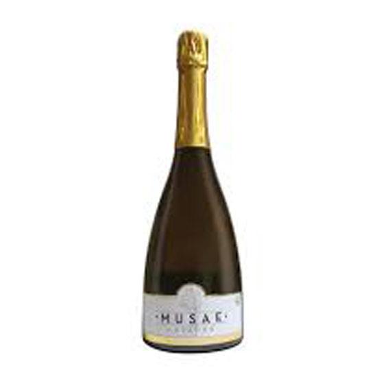 Botella de vino blanco Musae