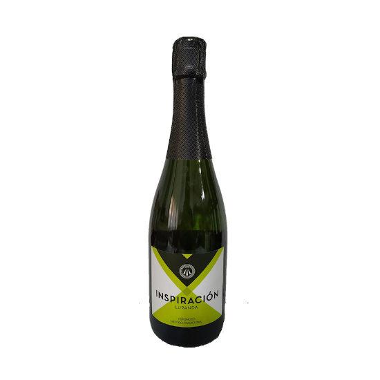 Botella de vino blanco Inspiración Lupanda