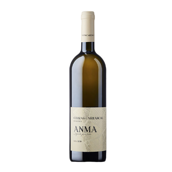 Botella de vino blanco Anma blanco