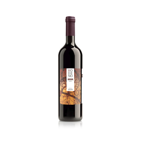 Botella de vino blanco Rodeno