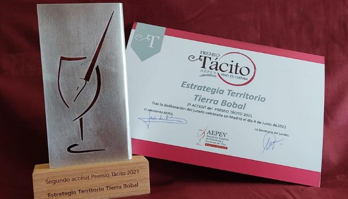 La Estrategia Territorial Tierra Bobal recibe un accésit de los Premios Tácito 1